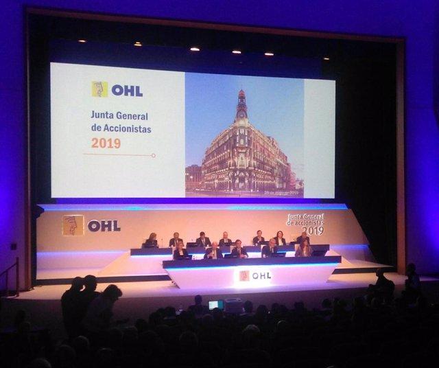 Economía.- OHL analizará este martes una potencial fusión con la constructura de
