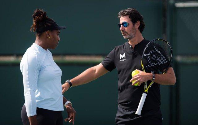 """Tenis.- El entrenador de Serena Williams cree que habría que optar """"por una estr"""