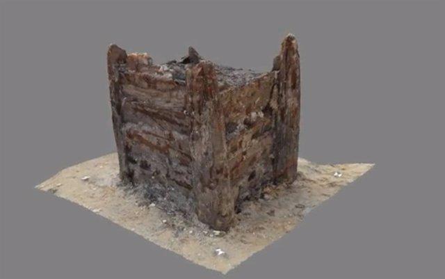 La construcción de madera más antigua del mundo, excavada en Chequia