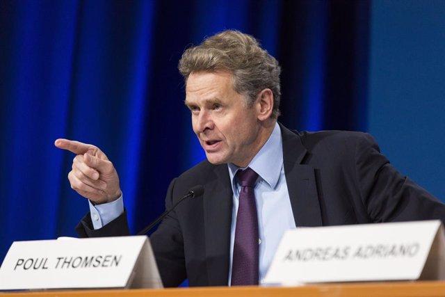 FMI.- Poul Thomsen, director del Departamento Europeo del FMI, dejará el cargo e
