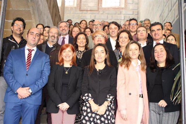 Asistentes a la jornada de análisis de Estrategias de Desarrollo Urbano Sostenible e Integrado de Andalucía