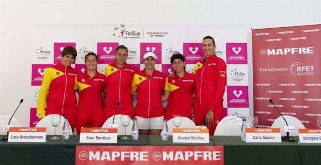 "Tenis/Copa Federación.- Anabel Medina: ""Osaka va a tener que demostrar su nivel"