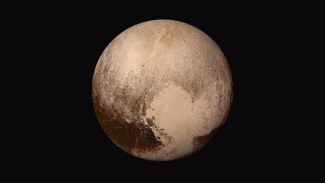 Un 'corazón' de hielo de nitrógeno controla los vientos en Plutón