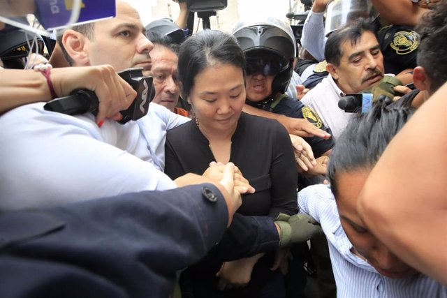 La opositora peruana Keiko Fujimori
