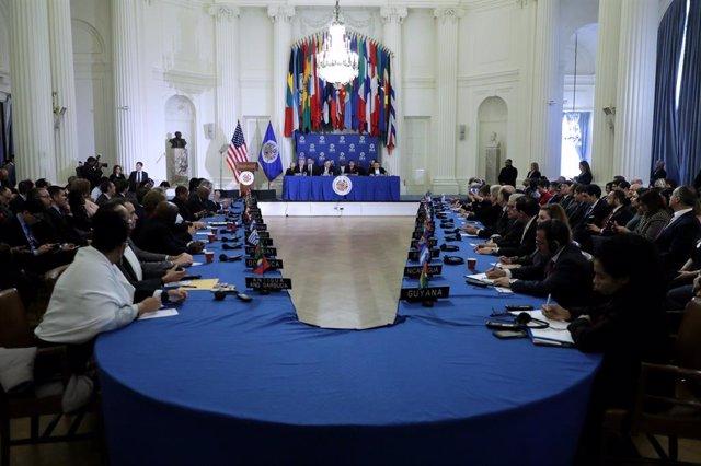 Iberoamérica.- La OEA ultima los preparativos para elegir a su secretario genera