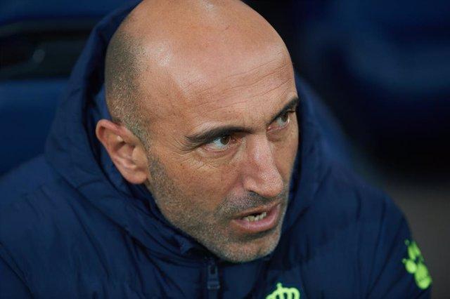 Abelardo Fernández, entrenador de l'Espanyol en una foto d'arxiu.
