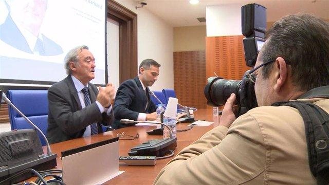 El director del Centro Nacional de Investigaciones Oncológicas, Mariano Barbacid, ofrece una conferencia en Mérida