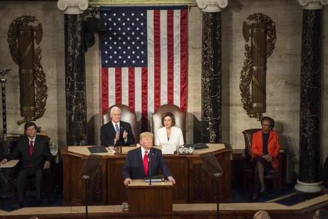 EEUU.- Los demócratas centran su réplica al discurso sobre el Estado de la Unión