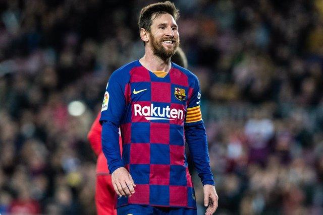 El capità del Barça, Leo Messi