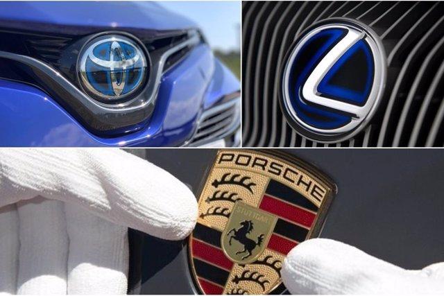 Toyota, Porsche y Lexus