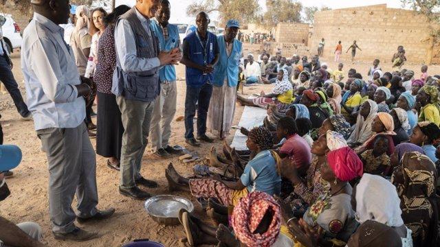 "Sahel.- ACNUR llama a actuar antes de que la crisis en el Sahel ""sea incontrolab"