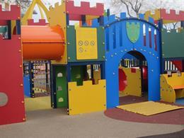 Un parque infantil.
