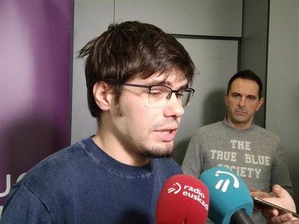 """Podemos Euskadi cree que un adelanto electoral daría la legislatura por """"fracasada"""""""