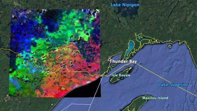 La NASA observa desde el espacio cómo se despiertan las plantas
