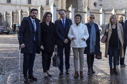 """Ribera cree que es misión de todos recuperar el equilibrio territorial """"tras décadas de diáspora a la costa y el centro"""""""