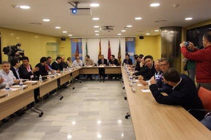 Administraciones y organizaciones trabajarán para minorar la llegada al Mar Menor de arrastres que producen las lluvias