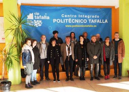 El director del CIP de Tafalla solicita al Parlamento la ampliación y unificación del centro, que cuenta con 389 alumnos