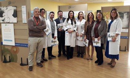 El Hospital de Valme acoge en Sevilla 'Expression of Hope', exposición con obras de afectados de enfermedades raras