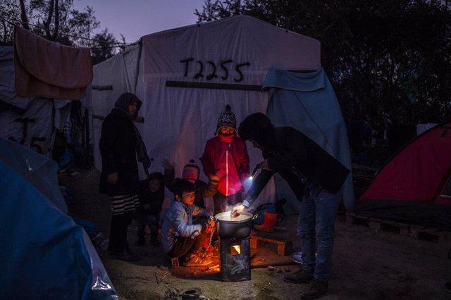 DDHH.- Las plazas para reubicar refugiados en todo el mundo solo cubren el 4,5 p