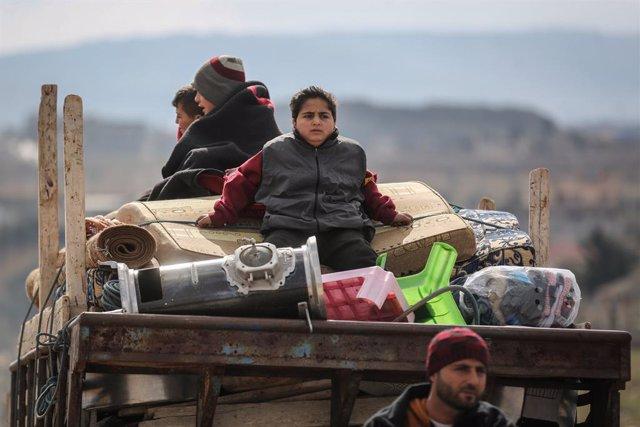"""Siria.- Las ONG piden un alto el fuego inmediato ante la """"catástrofe humanitaria"""
