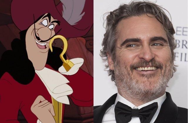 Disney quiere que Joaquin Phoenix sea el Capitán Garfio