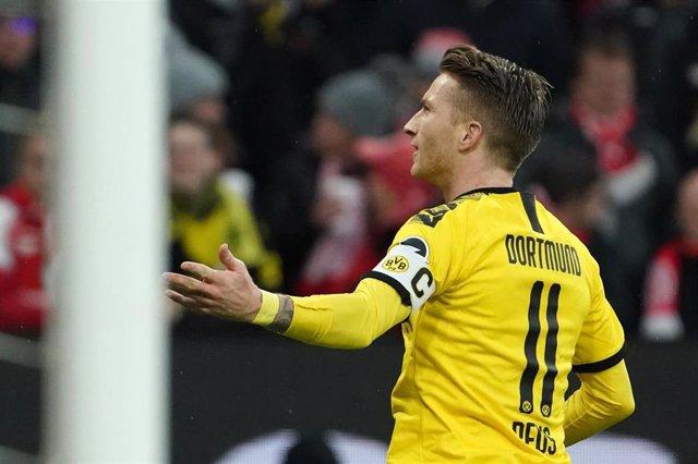 Marco Reus, en un partido del Borussia Dortmund.