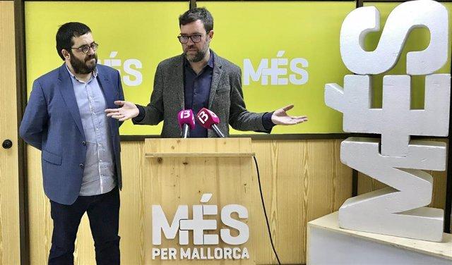 Vicenç Vidal y Antoni Noguera.