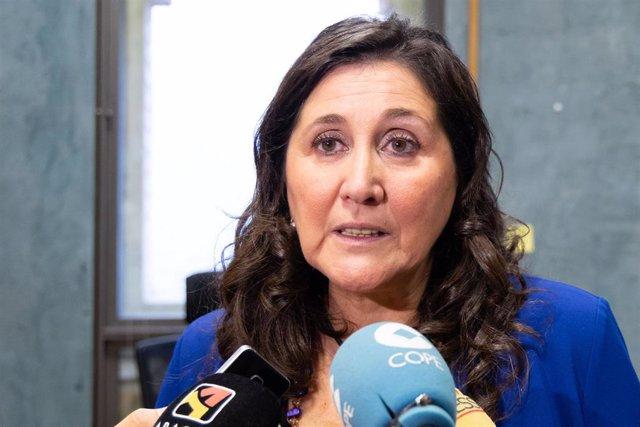La concejal delegada de Educación del Ayuntamiento de Zaragoza, Paloma Espinosa