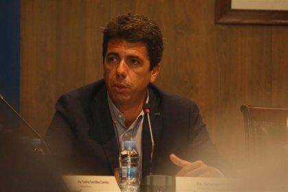 Mazón pide la dimisión del presidente de la CHS por negarse a explicar en Les Corts la gestión de la DANA