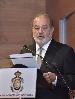 Economía/Empresas.- (AMP) Carlos Slim entra en Metrovacesa al tomar un 3% de su