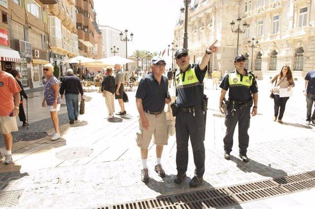 Policía Local, turismo, turistas