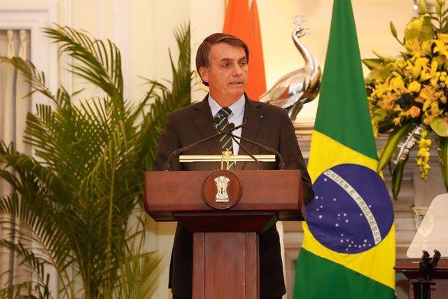 Brasil.- Bolsonaro se niega a destituir a su jefe de prensa, investigado por pre