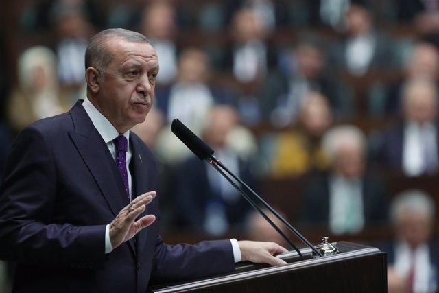 Turquía.- Erdogan expresa sus condolencias por los muertos por las avalanchas y