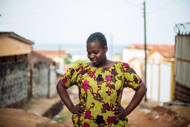 Sewanatu, de víctima de la mutilación genital femenina a activista que lucha contra ella en Sierra Leona