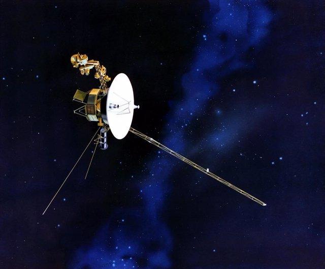 Concepto artístico de Voyager 2