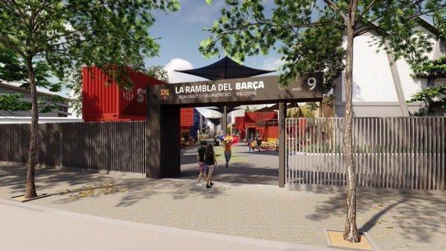Fútbol.- El Barça renueva su oferta de restauración con La Rambla del Camp Nou