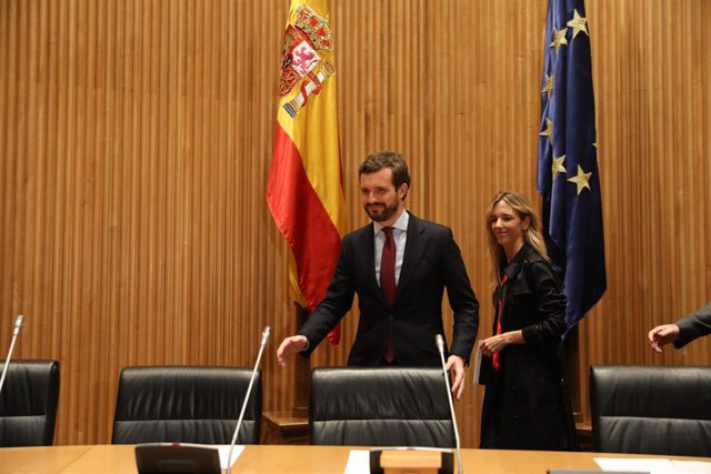 Casado exige que Sánchez aclare al Congreso si habló con Delcy Rodríguez y pide