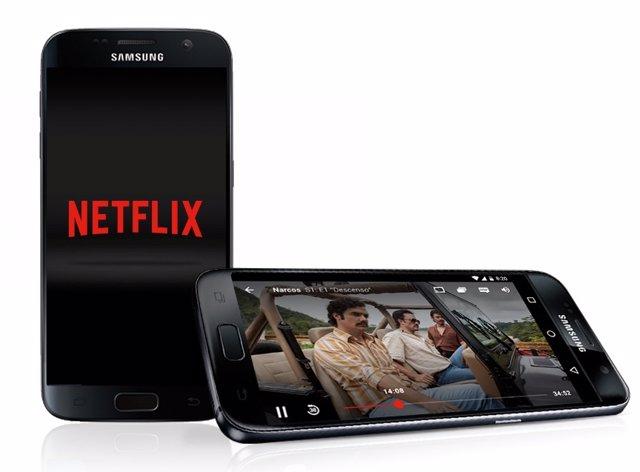 Netflix en Galaxy S7