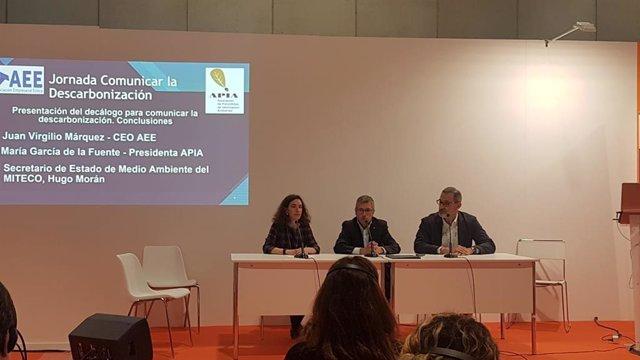 """Hugo Morán defiende la labor del periodismo ambiental en la """"necesaria"""" adaptaci"""