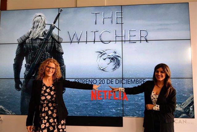 Presentaciómn del rodaje de la serie 'The Witcher'