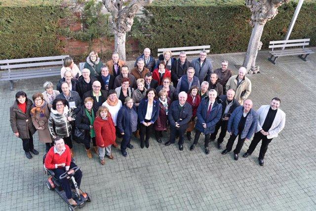 Homenaje a 65 funcionarios de la Administración jubilados en 2019