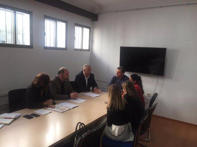 Ruiz Boix en el Ayuntamiento de Conil