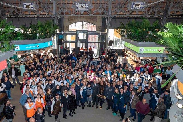 Inauguración del Mercado Central de Zaragoza