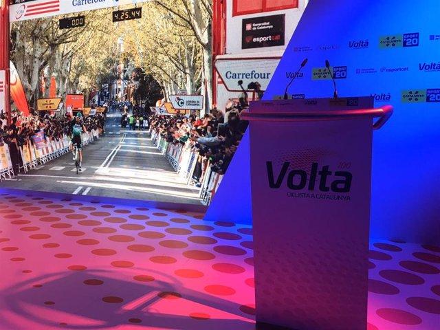 Presentación de la Volta Ciclista a Catalunya 2020, que llega a su edición número 100