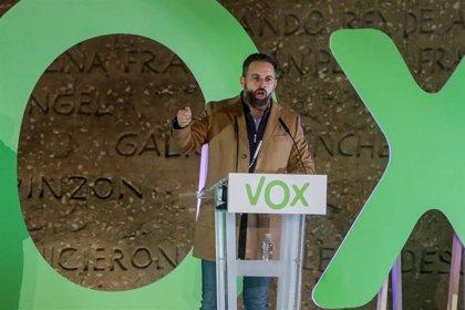 Vox anuncia la celebración de primarias internas para renovar su dirección, presidida por Abascal