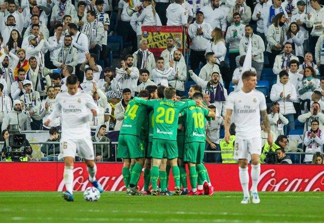 La Real Sociedad se mete en semifinales tras ganar en el Santiago Bernabéu