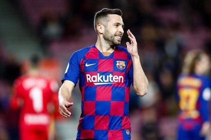 """Jordi Alba: """"Ya nos tiran bastante mierda desde fuera como para que nos la tiremos desde dentro"""""""