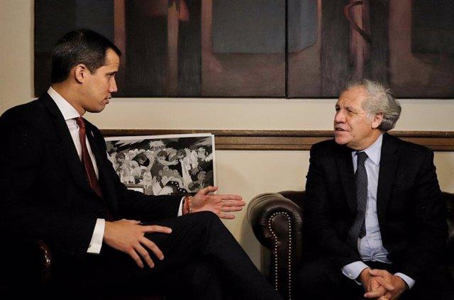 Venezuela.- Guaidó se reúne con Pelosi y Almagro durante su visita a EEUU para a