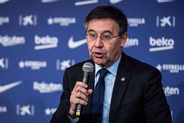 """Fútbol/Copa.- Bartomeu: """"Esta fuerza, ganas y ambición me animan para la Liga y"""