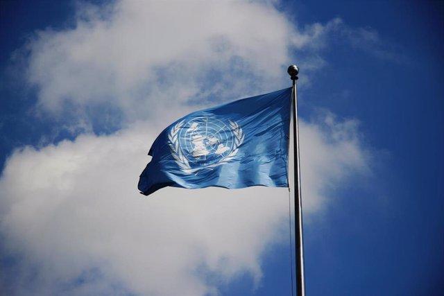 Bandera de Naciones Unidas.